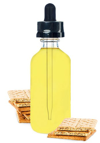 Premium Vape Juice E-liquid E-juice - Graham Cracker