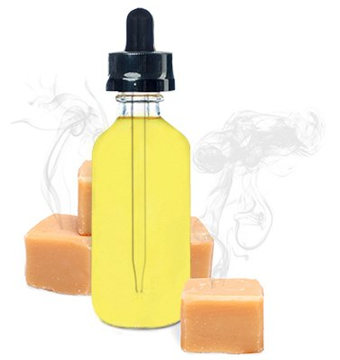 Premium Vape Juice E-liquid E-juice - Smoked Butterscotch