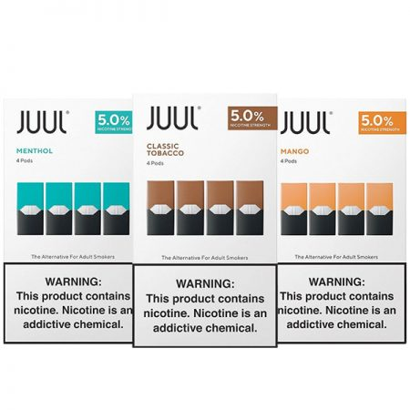 Authentic JUUL Pods 0.7mL - 4 Pack - 5% - Multi Flavor