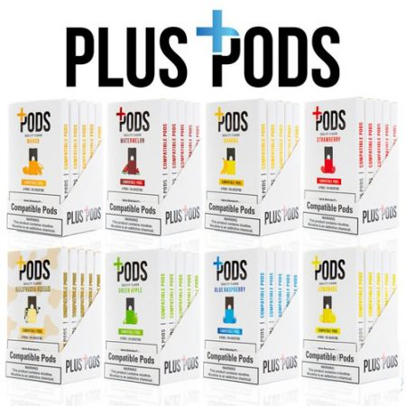 Plus Pods + JUUL Compatible Pods 1.0mL - 4 Pack - 6%